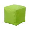 Sedací taburet CUBE světle zelený V21