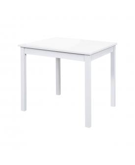 Jídelní stůl 8842B bílý lak