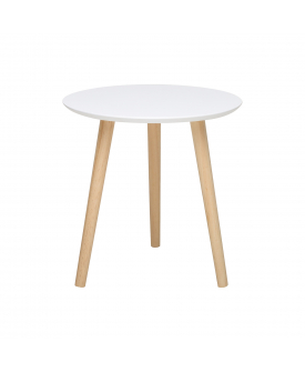 Odkládací stolek IMOLA 2 bílý/borovice